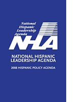 2008 Hispanic Policy Agenda